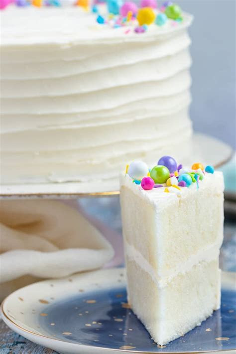 White Cake Recipe FROM SCRATCH!   Goodie Godmother