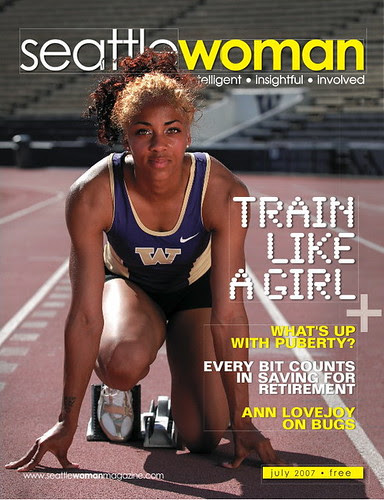 Ashley Lodree Seattle Woman Magazine cover