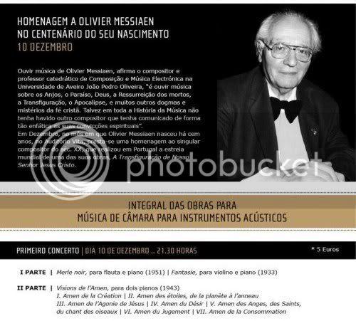 Messiaen - Homenagem 100 Anos