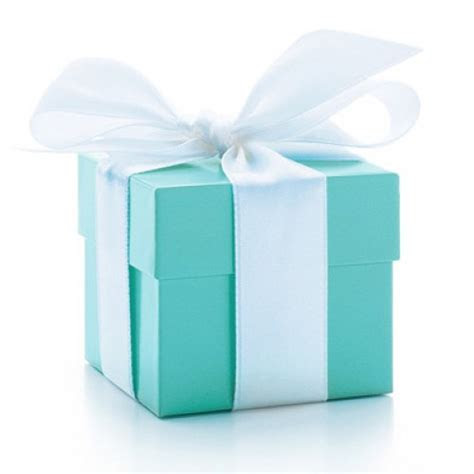 Tiffany Blue Square Box Favour Boxes