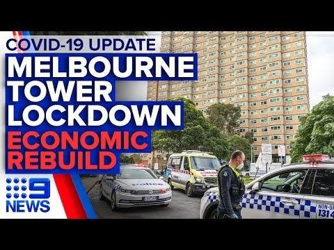 Coronavirus: Latest on Melbourne towers 'hard lockdown' | 9 News Australia
