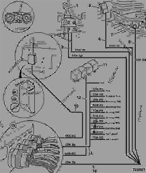 electrical layout cab agricultural jcb