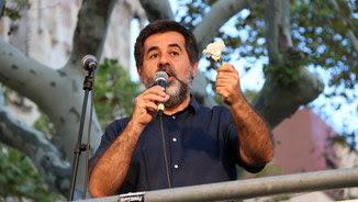 Jordi Sànchez, en una manifestació davant del TSJC el 22 de setembre (ACN)