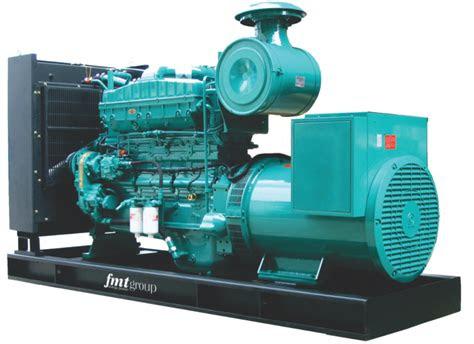 fmt group diesel generator gen set generator sets red
