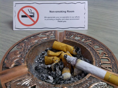 Non-smoking Room by rizauddin