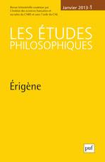 Les études philosophiques 2013/1