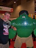 2012 Toronto Fan Fest - me and Lego Hulk