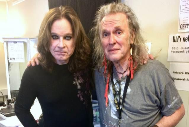 OZZY OSBOURNE Reconnects With Guitarist BERNIE TORMÉ At SWEDEN ROCK FESTIVAL