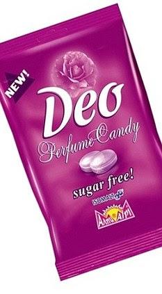 Perfume comestíveis: Mamando este doce é feito para tornar a sua pele como o cheiro das rosas