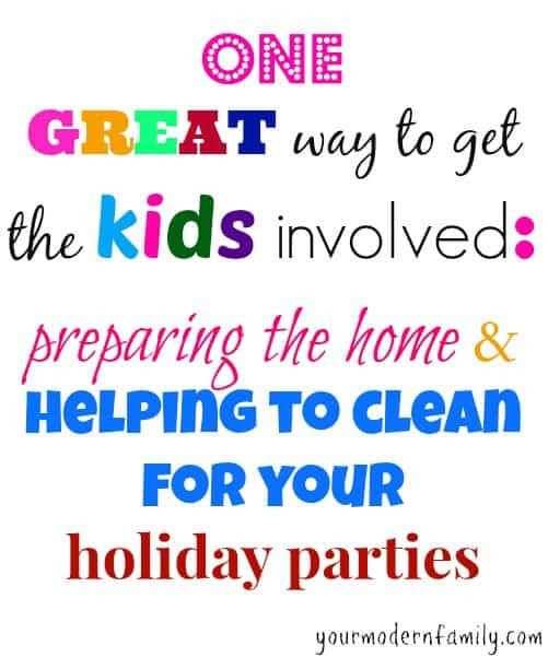 This is such an AWESOME idea!!  Our kids will sign up for cleaning with this tip )