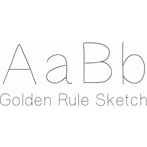 Golden Rule FONT by Gina Marshall Design ID #79387