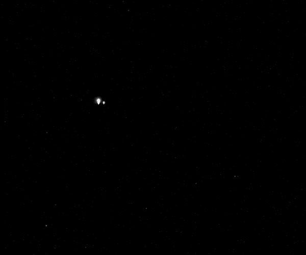 Earth as seen from NASA's MESSENGER spacecraft at Mercury (61 million miles away), on July 19, 2013.