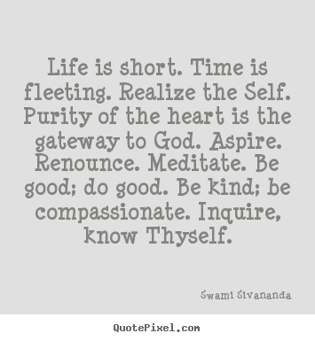 Quotes By Swami Sivananda Quotepixelcom