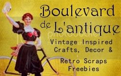 Boulevard de L'antique Retro Scraps Freebies