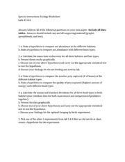 28 Ecology Worksheet Answer Key - Free Worksheet Spreadsheet