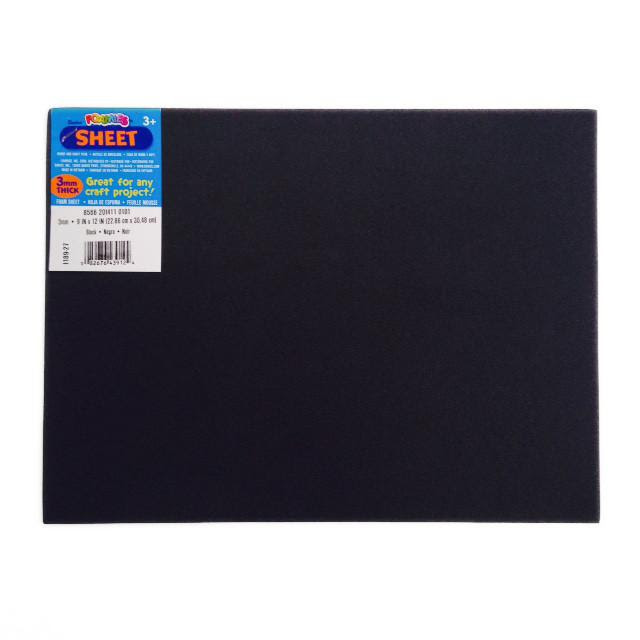 Foam Sheet - Black