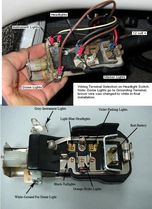 58 Chevy Headlight Switch Wiring The 1947 Present Chevrolet Gmc Truck Message Board Network