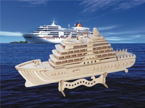 Sale Cruise Ship 3d Puzzle - 71 Pieces