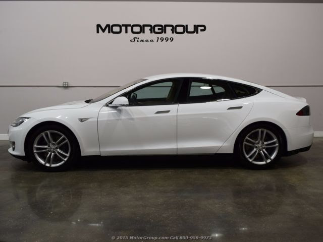 2013 Tesla Model S 60 Tech Air Suspension Nappa Leather