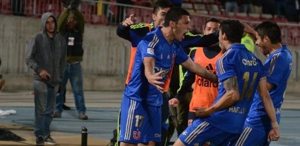 A Universidad de Chile será a segunda adversária do Cruzeiro no Grupo 5 da Libertadores