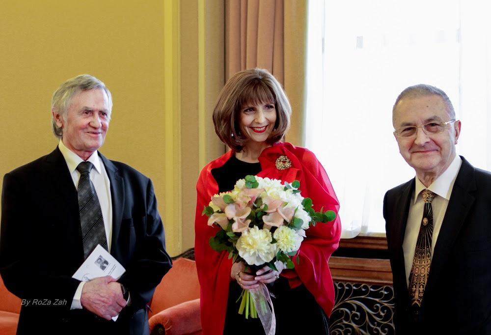 Principesa Maria, la aniversarea Academiei de Ştiinţe Medicale din România