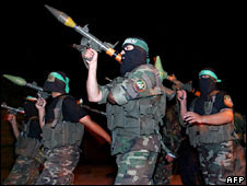 Hamas fighters. Archive photo