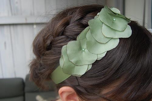 lilypad headband