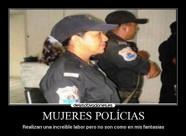 Mujeres Policias Desmotivaciones