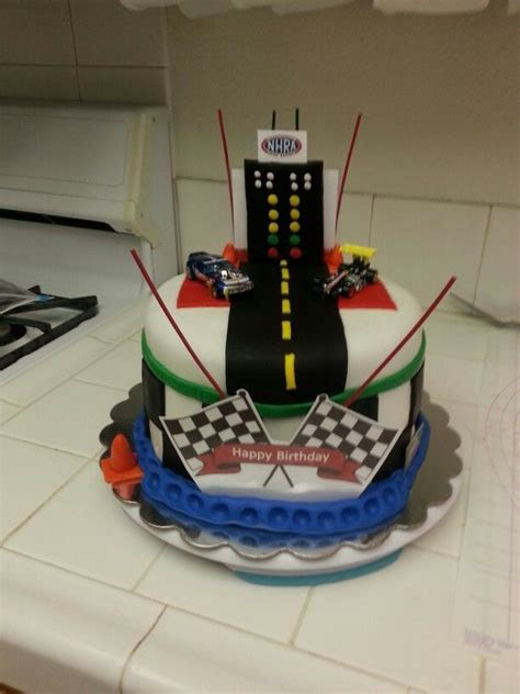 DRAG RACING CAKE   Cake Ideas   Racing cake, Birthday cake