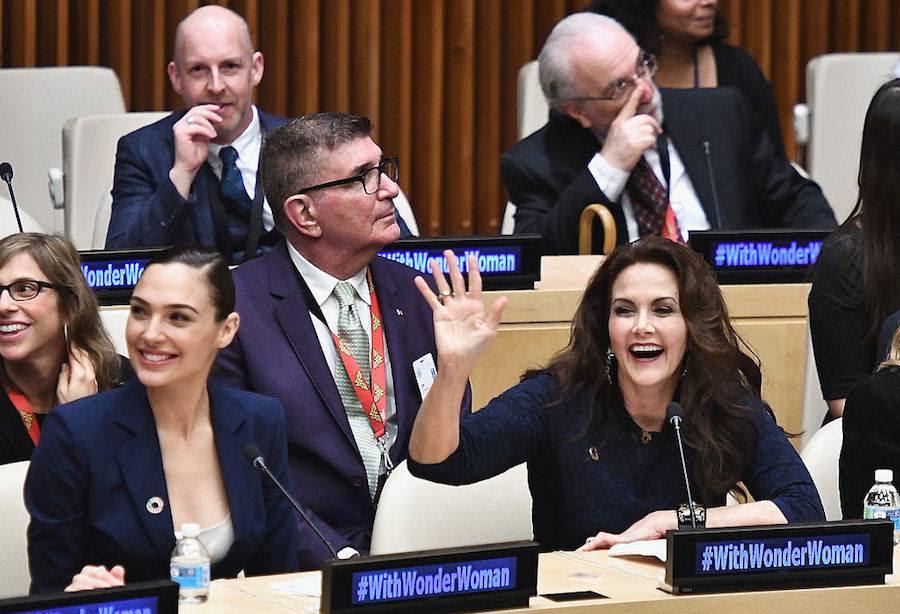 Wonder Woman es oficialmente integrante de las Naciones Unidas