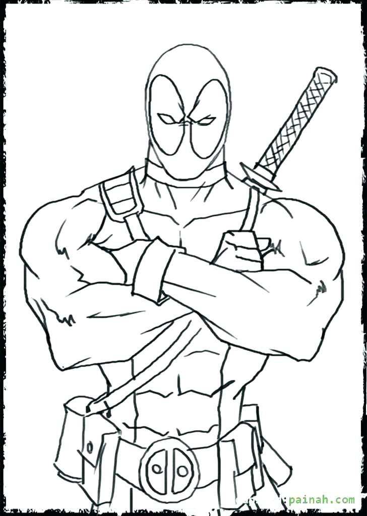 Lego Deadpool Coloring Pages at GetColorings.com | Free ...