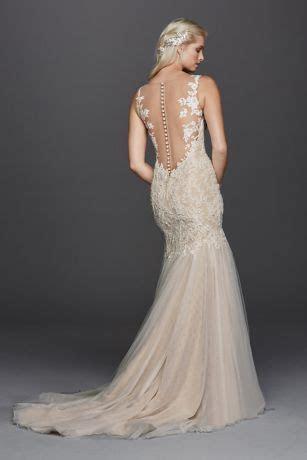 Beaded Venice Lace Trumpet Wedding Dress Style 4XLSWG723