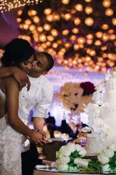 Russell Westbrook & Nina Earl Celebrate Their 1st Wedding