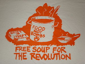 Food Not Bombs illustraion