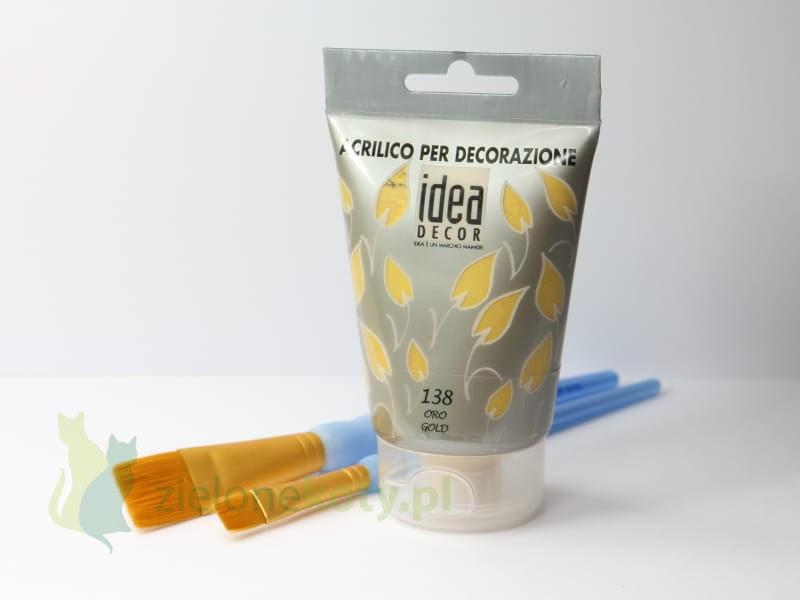 http://zielonekoty.pl/pl/p/Farba-akrylowa-Maimeri-Idea-Decor-110ml-138-zlota/561