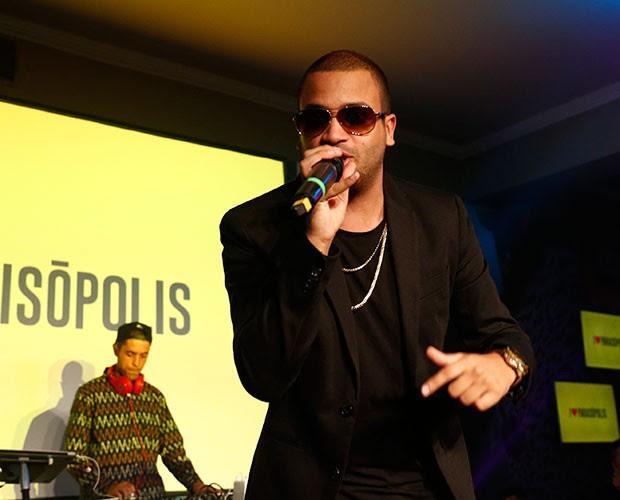 Projota tem música na trilha sonora de I Love Paraisópolis (Foto: Raphael Dias/Gshow)