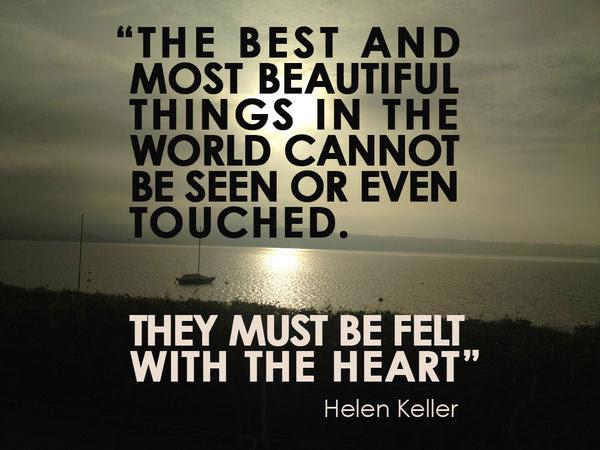 Helen Keller Quote Feelingmagnetscom Feeling Magnets