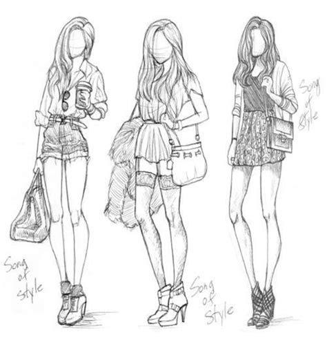 draw   fashion drawings