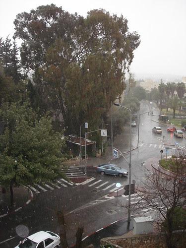 Rain and sleet