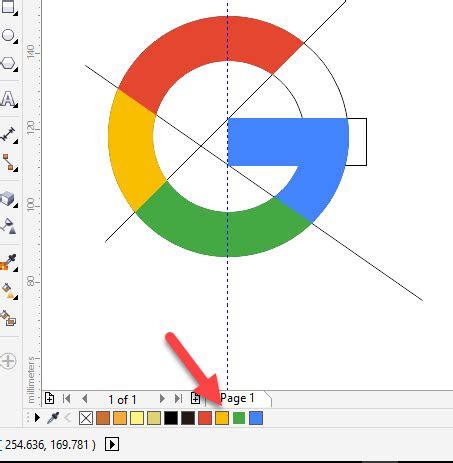 tutorial desain logo google  coreldraw  gayeng