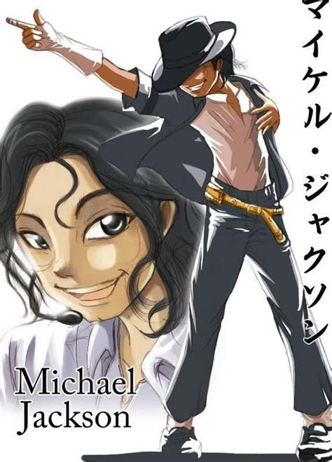 michael  good  anime form michael jackson