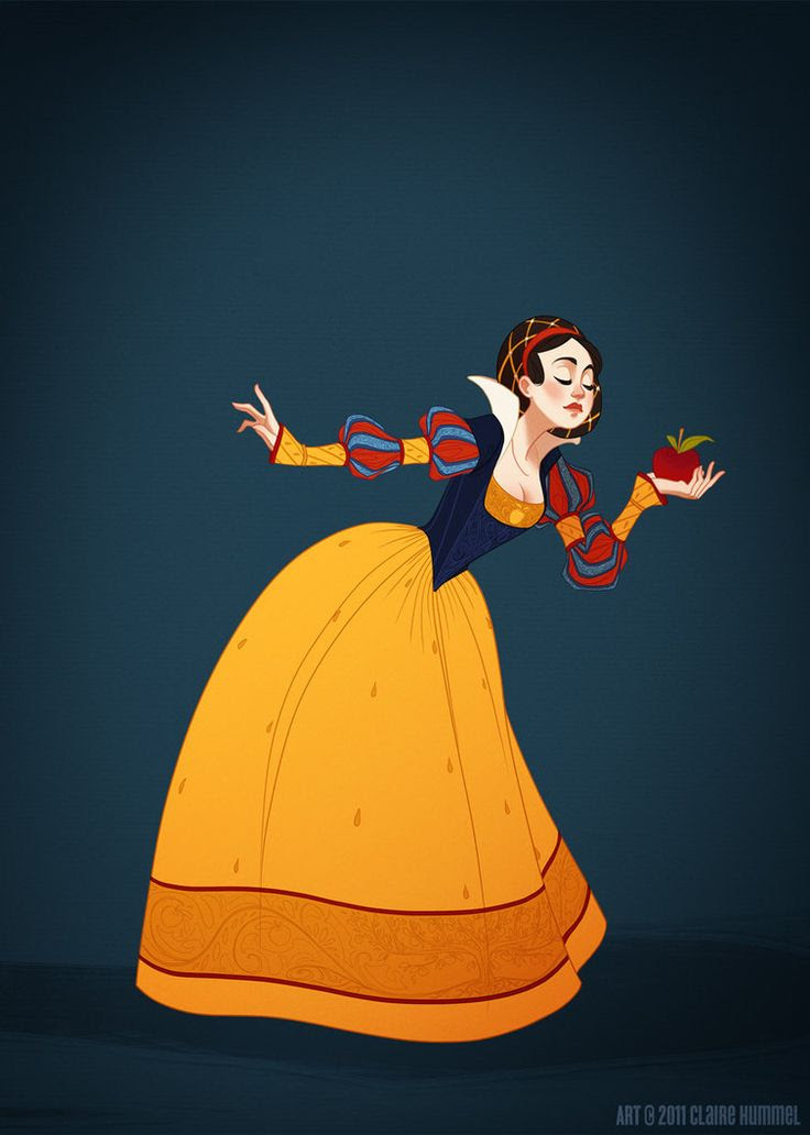 snow white historic accured by  Claire Hummel  http://clairehummel.com/