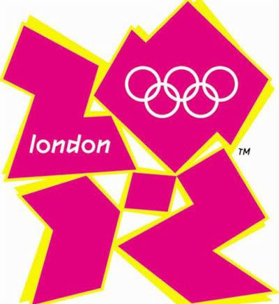 London's new logo for the 2012 Olympic Games.