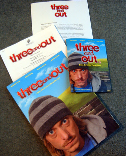 Three and Out Preview Screening Press Pack