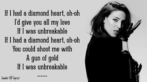I Wish I Had A Diamond Heart Lyrics