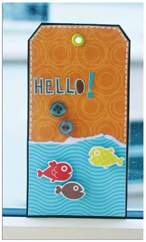 Hello fish tag