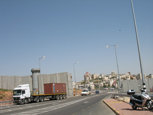going north from Jerusalem