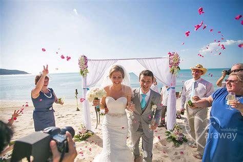 Secular Beach Wedding Thailand   Faraway Weddings
