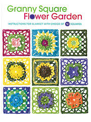 Granny Square Flower Garden Crochet Pattern