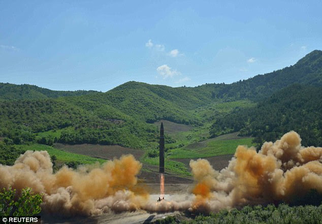 North Korea on Tuesday said it had tested an intercontinental ballistic missile (ICBM), prompting US experts to say the device could reach Alaska